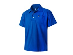 Toasting Man Polo - Blue