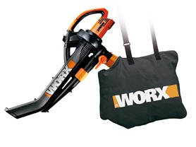 Worx 12-Amp All-in-One Electric Blower/Mulcher/Vacuum