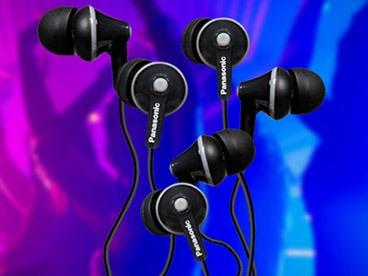 Panasonic Headphones (3 Pack)