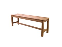 Outdoor Interiors 3-Person Backless Bench