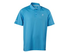 HEAD Men's Net Performance Polo-Blue, L