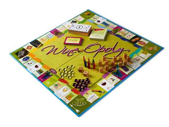 how to play wine-opoly