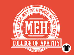 College of Apathy - Orange