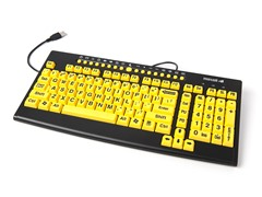 Full Size Keyboard with Large Print Letters