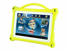 "7"" Tablet w/ Silicone Case - Yellow"