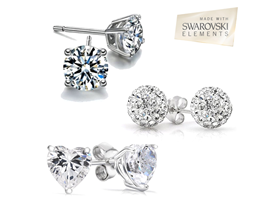Swarovski Elements Best Selling Studs