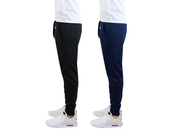 Men's French Terry Joggers 2-Pack a5456304-a85e-4702-8030-3d96213b43ec