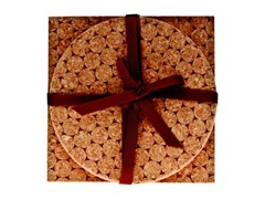 Natural Dotted Cork 2-Piece Trivet Set
