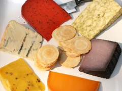 igourmet A Rainbow of Colorful Cheeses