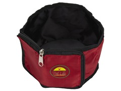 Travel Pet Bowl Wallet - Red