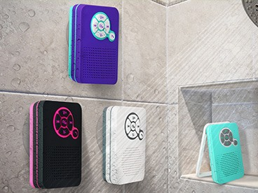Aduro AquaSound Water Resistant Speaker