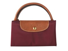 Longchamp Le Pliage Travel Handbag, Red