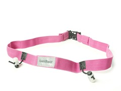 Reflective Race Number Belt - Pink