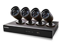 8CH/4 Cam 960H DVR Security System with 500GB HDD