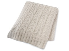 Woven Workz Denise 50x60 Throw - Cream