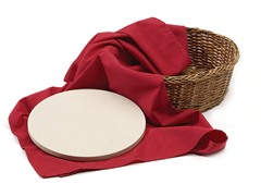 Bread Basket with Warming Stone