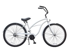 Women's BE Single Speed, White/Gray
