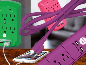 Office + Style Surge Protectors (2 Packs)