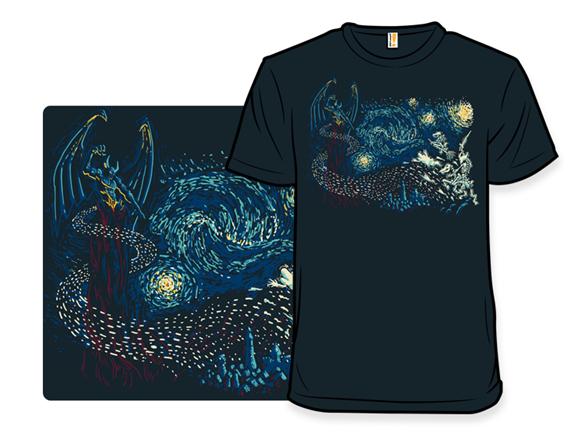 The Starry Night on the Bald Mountain T Shirt e9d7d390-2517-43e6-a5d5-90501d3a1055