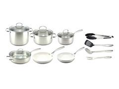 Kevin Dundon 14 Piece Cookware Set SS