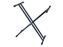 Double X Braced Heavy Duty Keyboard Stand