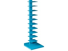 Spine Book/Media Tower - Berry Blue