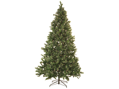 Snow Pine Tree 9' Prelit Clear Lights