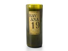 Stone Candles 20 fl oz Reclaimed Bottle Candle Havana