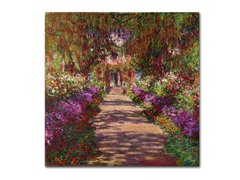 Monet A Pathway in Monet's Garden