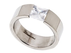 Stainless Steel Greek Ring