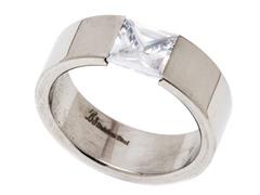 Stainless Steel Greek Ring