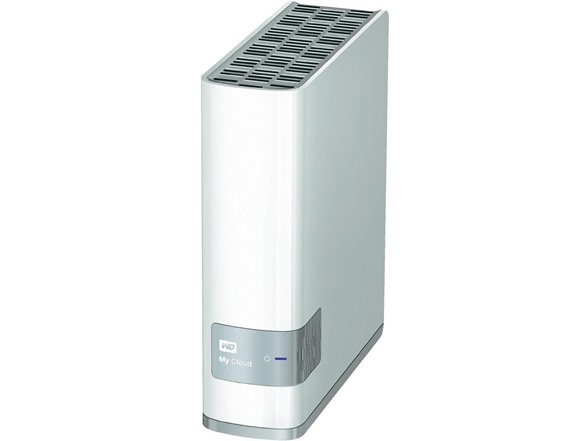 Western Digital WDBCTL0010HWT WD My Cloud 1TB NAS USB 3 0 3