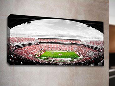 Football Stadium Art