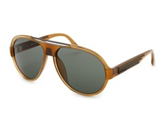 Women's Sunglasses, Light Brown/Dark Green
