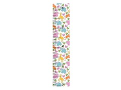 Peel & Stick Growth Chart- Silly Animals