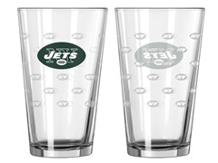 Jets Pint Glass 2-Pack