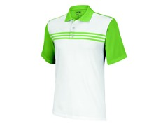 ClimaCool 3-Stripes Polo, White/Island