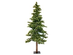 Alpine 5' Prelit Tree Clear Lights