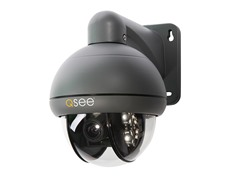 Speed Dome 650TVL Pan-Tilt Zoom Cam w/ 3x Optical Zoom