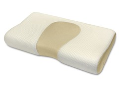 Scented Memory Foam Contour Pillow - Vanilla