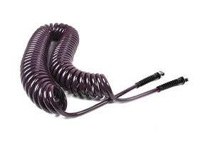 Water Right Coil Garden Hose Eggplant 50ft