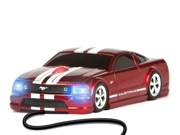 ford mustang wired optical mouse. Black Bedroom Furniture Sets. Home Design Ideas
