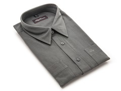Oleg Cassini Men's Dress Shirt, Slate