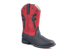 Western Lighted - Blk/Red (Tod 9-Kid 3)