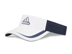 adidas adiSplice Visor, White/Navy
