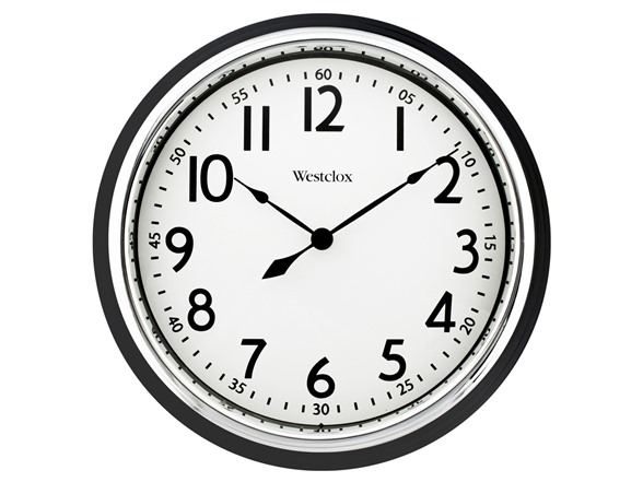 Westclox 12 Quot Round Wall Clock