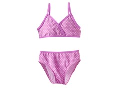 Purple Dot Two-Piece Swimsuit