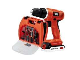 BLACK & DECKER 20V MAX Lithium-Ion Drill Kit