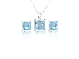 La Rochelle Pendant and Earring Set- Pick Color/Size