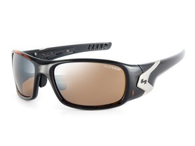 Sundog Pursuit Sunglasses, Brown/Mirror